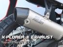 Yamaha Tenere 700 mit SC-Project X-Plorer II Exhaust - Soundcheck