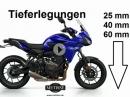 Yamaha Tracer 700: Tieferlegungen, Windschilder, Hebel, Fussrasten, Motorspoiler