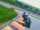 Yamaha V-Max, Fahrer 65, Jahre rockt den Sachsenring
