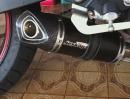 Yamaha XJ6 Jeskap Carbon Auspuffanlage