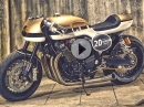 Yamaha XJR 1300 - It roCkS Bikes - Mega Cafe Racer | Racer TV