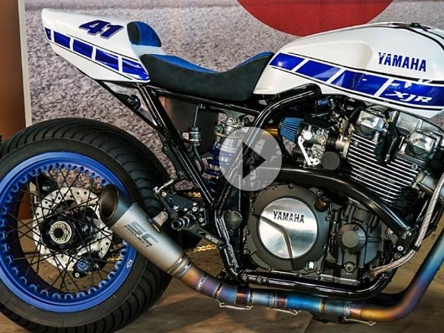 Yamaha Cafe Motorcycle