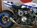 """Yamaha XJR 1300 """"Ronin"""" - SC-Project S1 4-2-1 Hammer Umbau und Sound"""
