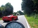 Yamaha XS 650 (40 Jahre alt) vs Ferrari - LOL