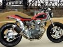 Yamaha XS650 bildschöner Umbau zum Flattracker von Mule Motorcycles