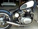 Yamaha XS650 Bj, 1976 Custom Hardtail Bobber von Bare Bone Rides