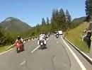 Yamaha XT1200Z Tour Kreuzbergsattel, Gailtaler Alpen, Oberkärnten, Österreich