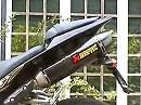 Akrapovic Slip-On offen an Yamaha YZF-R1 2009