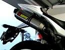 Yamaha YZF R1 mit Akrapovic Slipons
