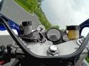 Zügig: Yamaha YZF 750R Donnerskirchen, Hof (Leithagebirge) Cam: SJ4000