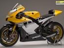 Yamaha YZR M1 60th Anniversary: Bildschön