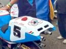 Yamaha YZR500 500ccm Warmup Zweitaktsound vom Feinsten