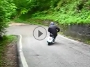 Killer Vespa - Yesssss Scooter auf Dope: Driften, sliden, Wheelspin, Eilligs Blechle