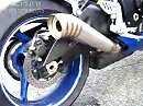 Yoshimura MotoGP Auspuffanlage an Suzuki GSX-R 750