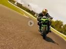 Z-Attack: Kawasaki Z900 vs, Kawasaki Z1000R auf der Rennstrecke in Most