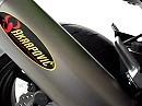 Kawasaki Z750 mit Akrapovic Auspuffanlage