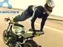 Ziemlich abgefahren - Motorrad Stunts auf der Öffentlichen