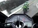 Zolder mit Honda CBR 600RR onBoard