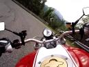Über die SP345 zum Passo Maniva mit Ducati Monster