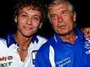 Zwei der Allergrößten: Valentino Rossi, Giacomo Agostini