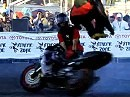 Zwei ganz besonders abgedreht Jungs - California State Fair - Motorrad Stunts