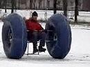 Zwei Räder aus Russland - mal was andres, scheint aber zu funktionieren ;-)