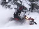 """Zwei Takte im Schnee: KTM 300 EXC beim """"Winterspaziergang"""""""