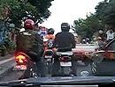 Verkehrsdichte: Motorroller - Mania auf Bali