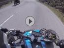 Zweitakt glühen am Limit: Yamaha Banshee 350 Riedbergpass - Crazy