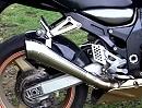 Kawasaki ZX-12R Ninja mit Speedpro MotoGP Evo Auspuff