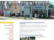 AF Automobile + Motorräder