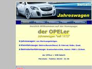 Auto vom Opeler