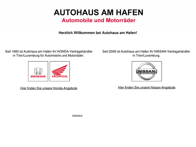 autohaus am hafen in trier motorradh ndler. Black Bedroom Furniture Sets. Home Design Ideas