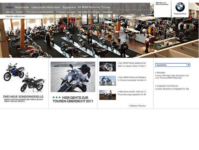 bmw motorrad zentrum hannover in hannover motorradh ndler. Black Bedroom Furniture Sets. Home Design Ideas