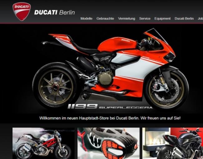 Ducati Berlin Vermietung