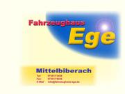 Fahrzeughaus Ege