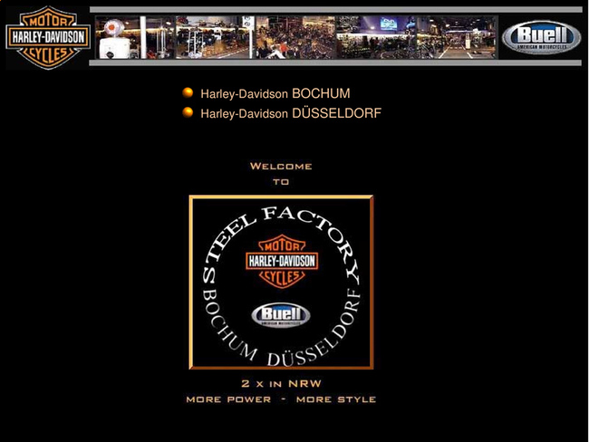 harley davidson steel factory duesseldorf in duesseldorf. Black Bedroom Furniture Sets. Home Design Ideas