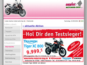 Mario`s Motorrad-Shop Triumph Rostock