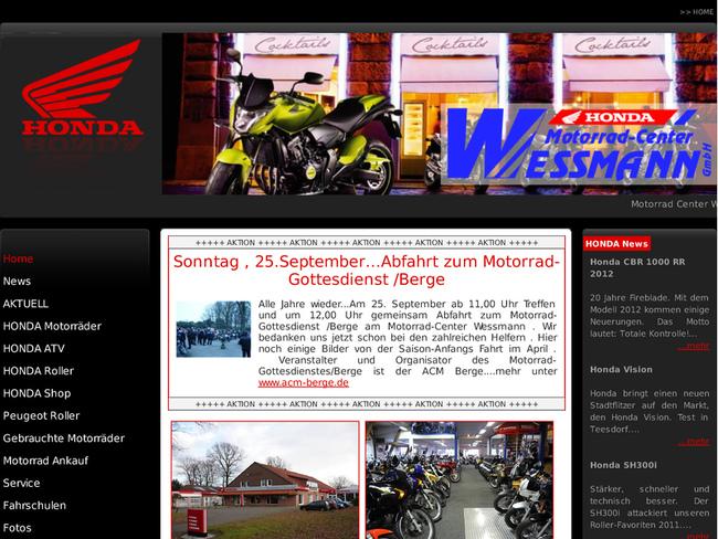 motorrad center wessmann in lingen ems motorradh ndler. Black Bedroom Furniture Sets. Home Design Ideas
