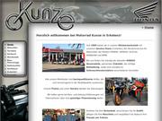 Motorrad-Kunze