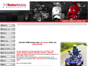 rollermobile ritterhude gmbh co kg in ritterhude motorradh ndler. Black Bedroom Furniture Sets. Home Design Ideas