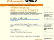 Scholz Elektromobile