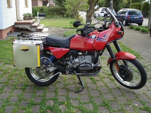 Bild BMW R 80 GS von Ralf