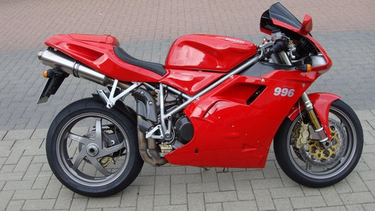 Bild Ducati 996 von ducaction