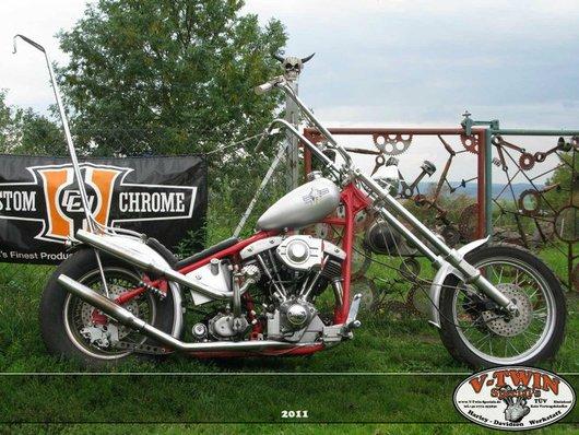 Bild Harley Davidson FL Shovelhead von senglert
