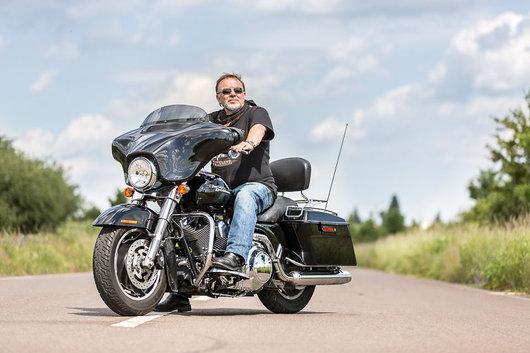 Bild Harley Davidson Street Glide von Herbert