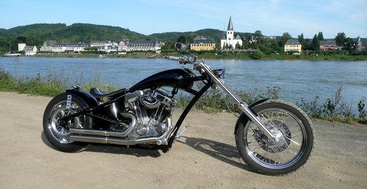 Bild Harley Davidson umgebaute Sportster 883 von RheinAhrChopper