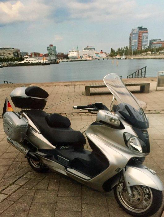 Bild Suzuki Burgman AN 650 K3 von Inselfürst