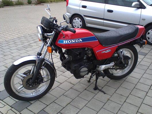 Bild Honda CB 400 N von Walter