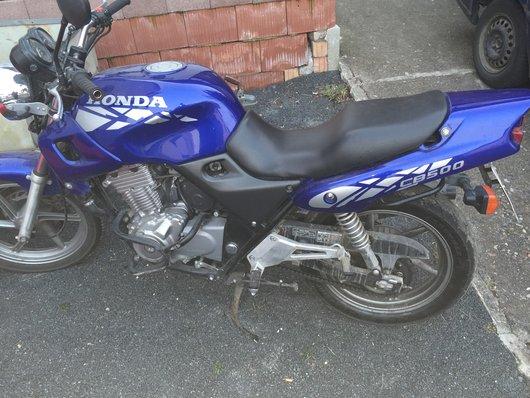 Bild Honda CB 500 von